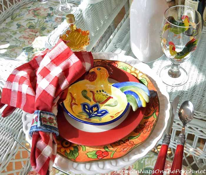 Farm Country Breakfast Table Setting 10