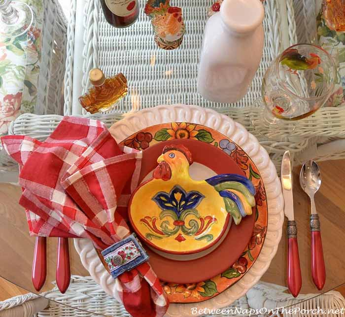 Farm Country Breakfast Table Setting 11