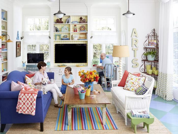 Furnish a Living Room or Home Office Space with Flea Market Finds