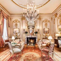 Joan River's New York Apartment Living Room