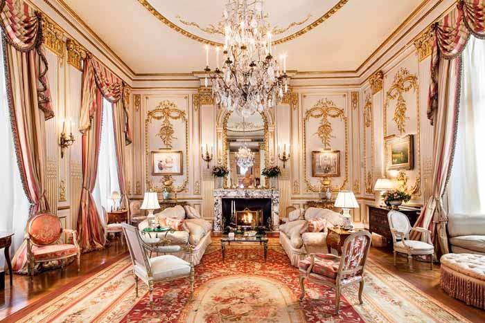 Joan River's New York Apartment Living Room