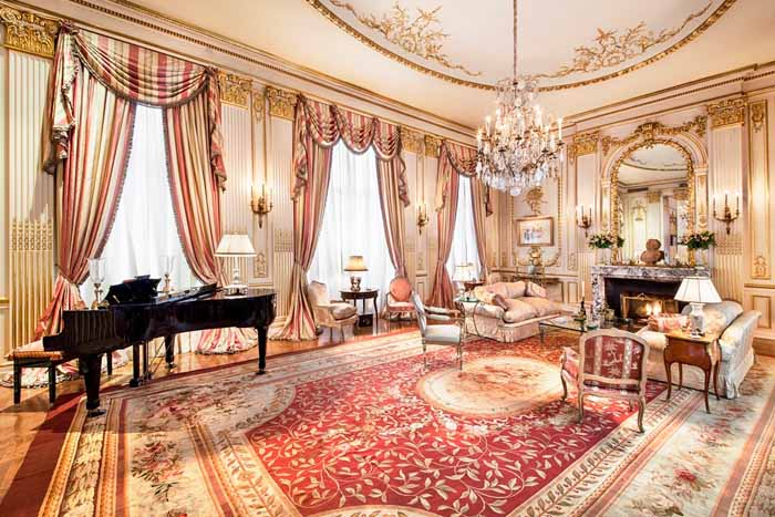 Music Room in Joan River's New York Apartment