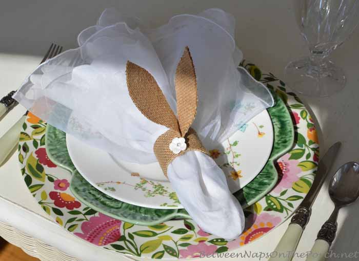 Pottery Barn Bunny Napkin Ring Tutorial