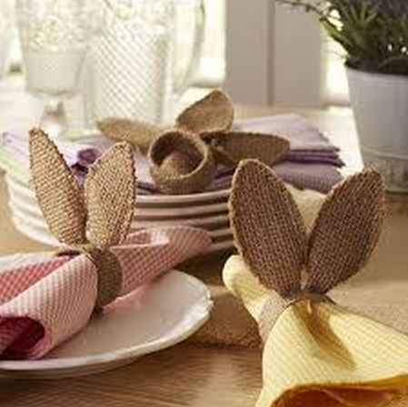 Pottery Barn Bunny Napkin Rings DIY Tutorial