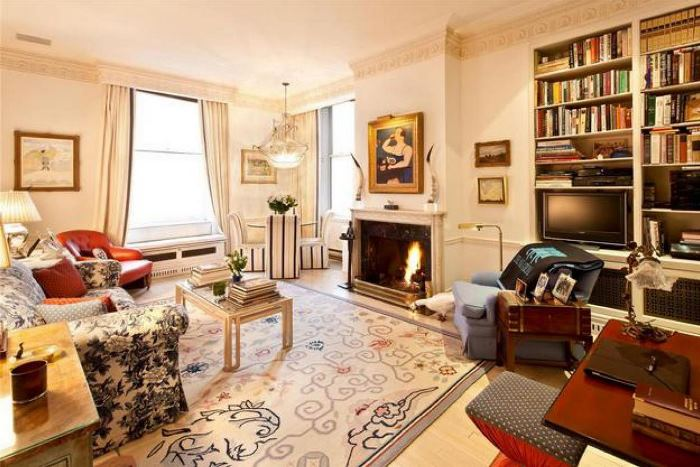 TV Room in Joan River's New York Apartment