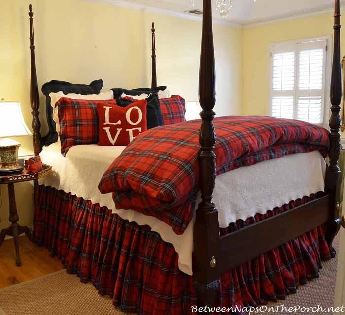 Beautiful Tartan Plaid Bedding For Winter