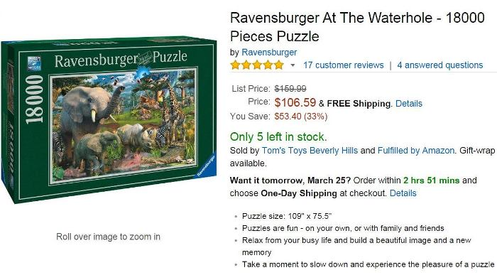 18000 Piece Puzzle