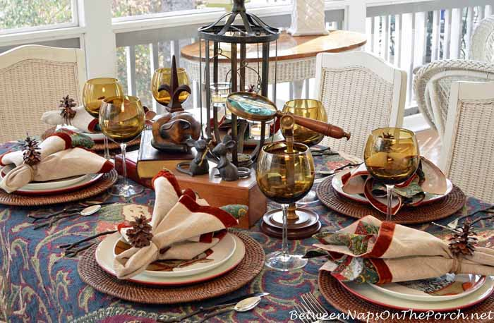 A Cozy Mystery Table Setting 2