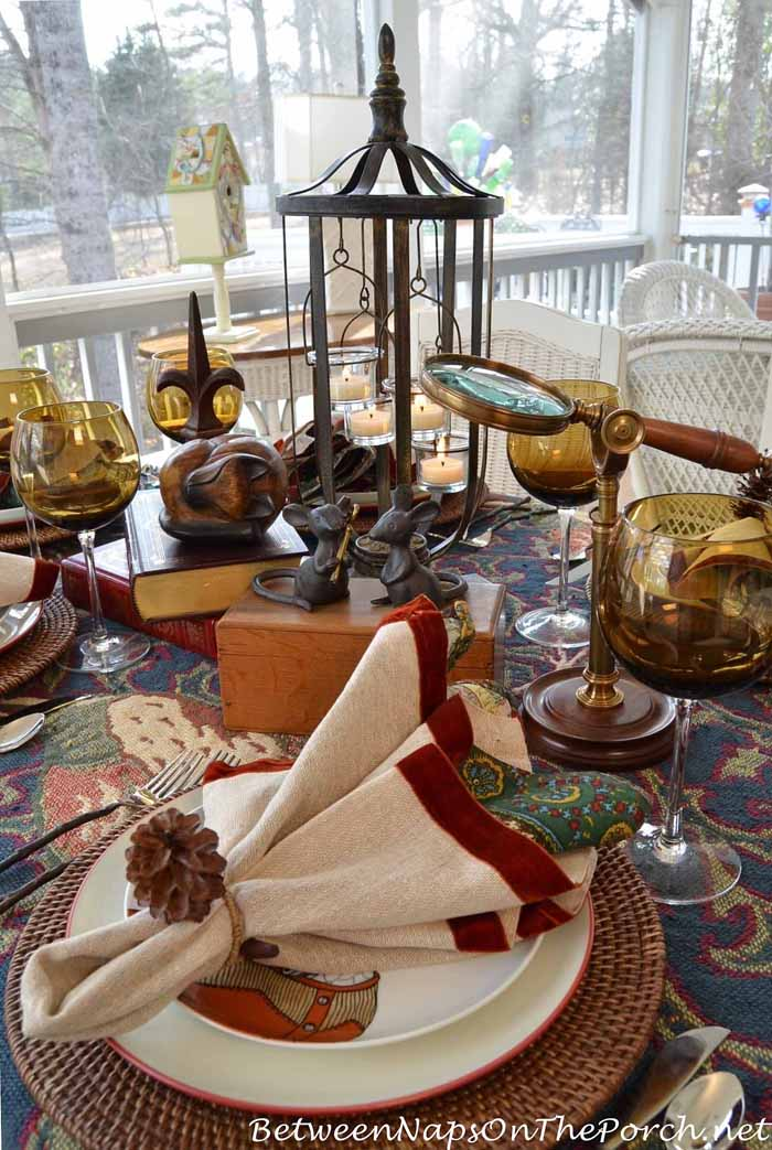 A Cozy Mystery Table Setting 3