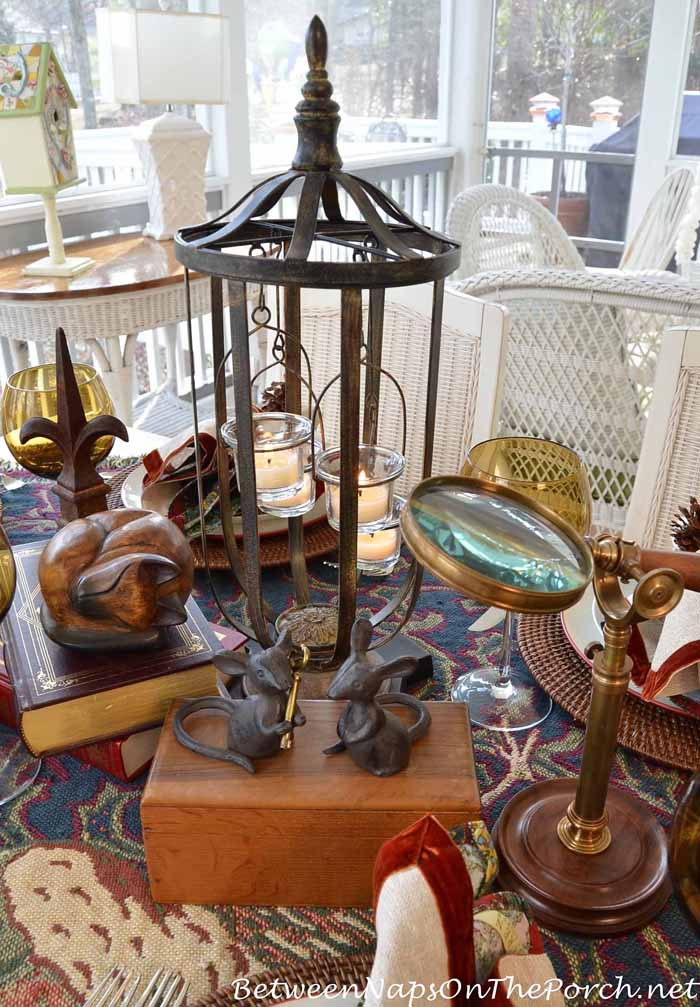 A Cozy Mystery Table Setting 4