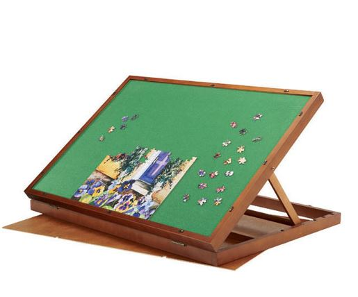 Adjustable Tabletop Puzzle Board Saves The Back and Neck