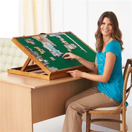 Adjustable Tilt Puzzle Boards Save Necks And Backs