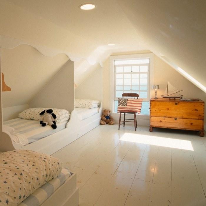 Attic Bedroom for Children