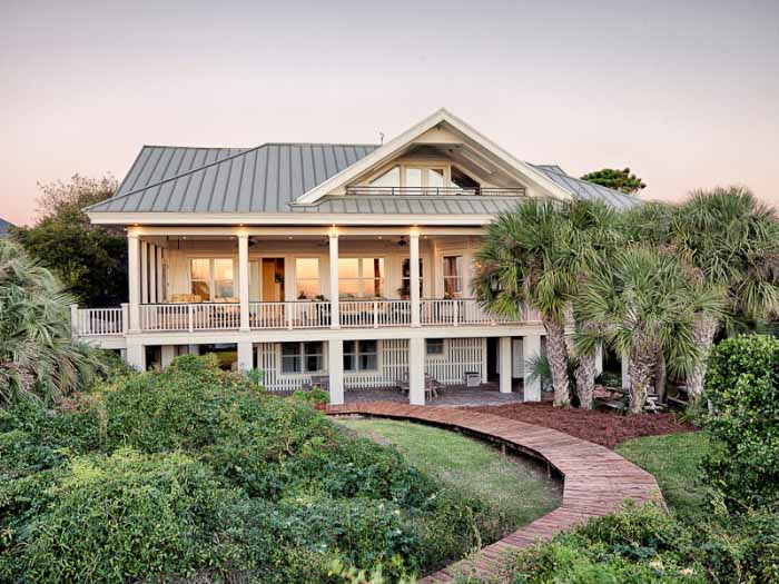 Beach Home on Tybee Island, Georgia
