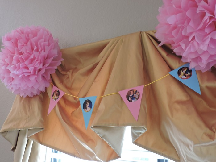 Beauty and the Beast Birthday Party Banner