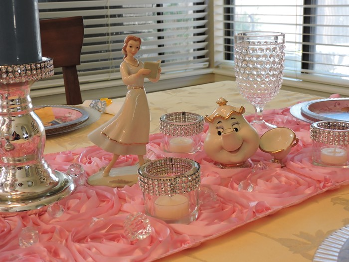 Beauty and the Beast Princess Birthday Party 3