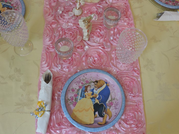 Beauty and the Beast Princess Birthday Party 4