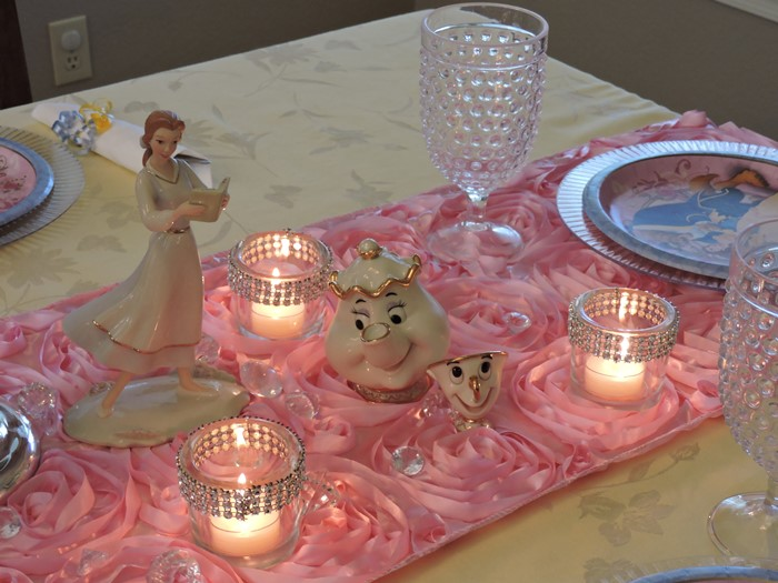 Beauty and the Beast Princess Birthday Party 8