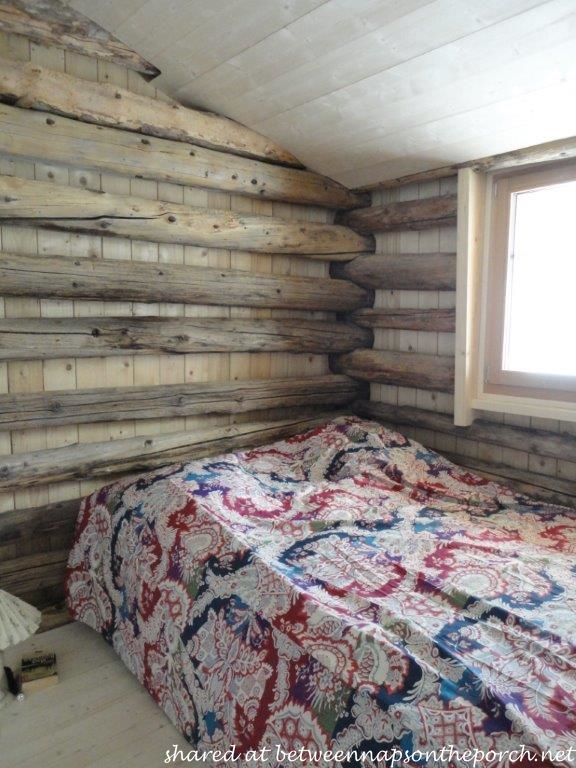 Bedroom in Restored Ski Cabin in Switzerland