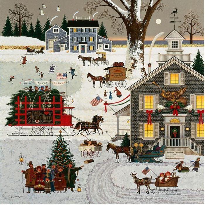 Cape Cod Christmas 1982
