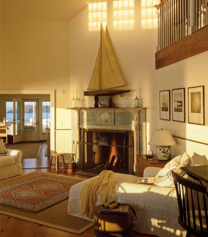 Small Cottage Living Room Ocean: Beach Cottage With A Fabulous 3-Season Screened Porch