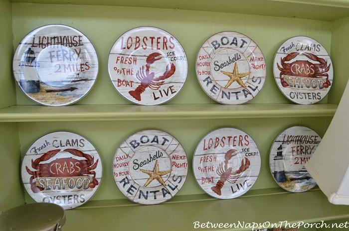 David Carter Brown Driftwood Plates
