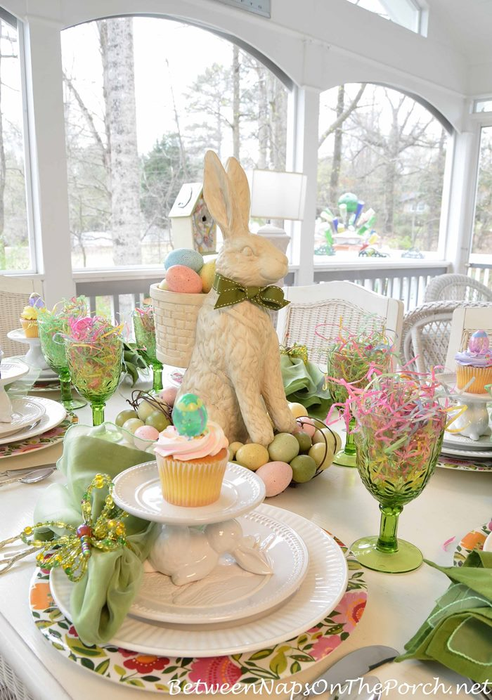 Easter Table Setting Spring Tablescape 01
