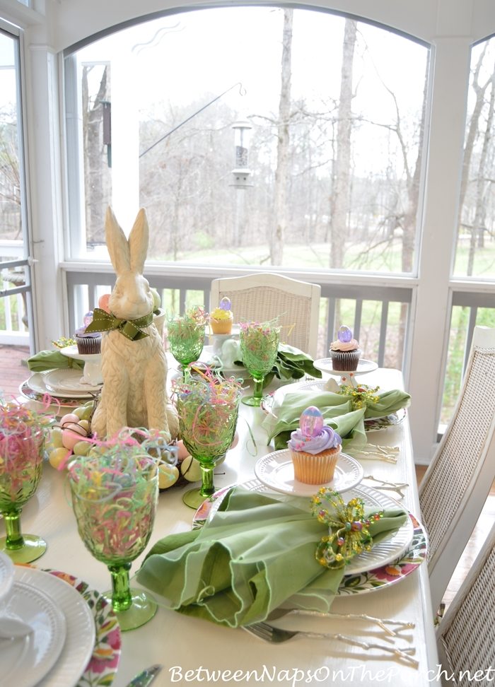 Easter Table Setting Spring Tablescape 04