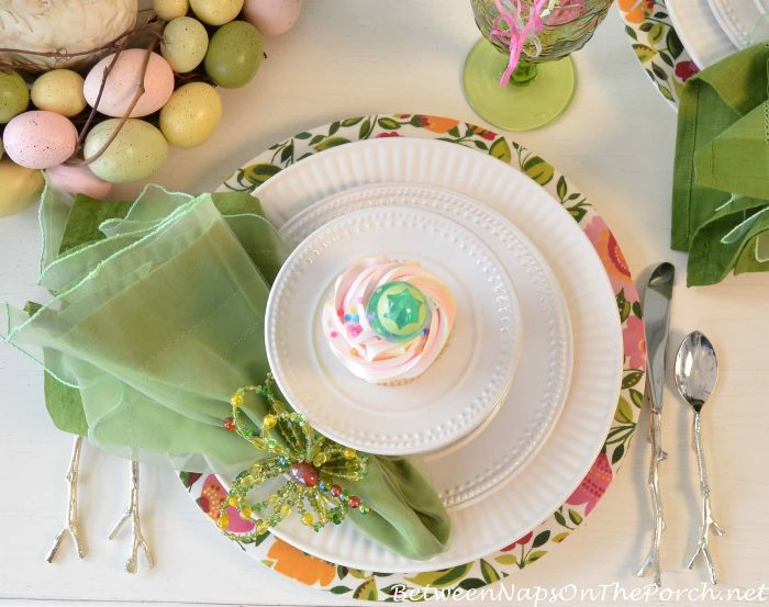 Easter Table Setting Spring Tablescape 24