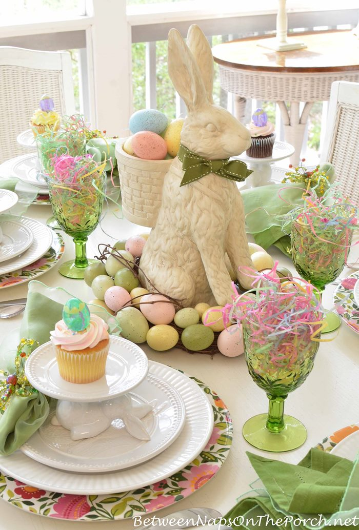Easter Table Setting  for Springtime