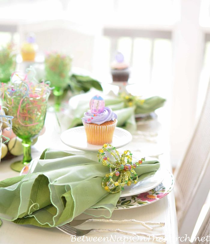 Easter Tablescape for Spring