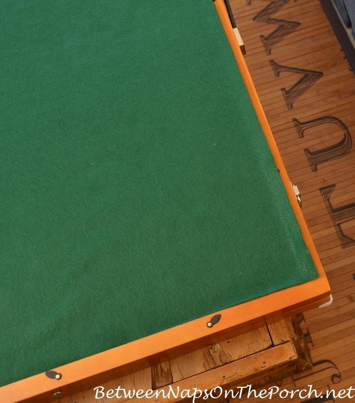 Green Felt for Puzzle Board_wm