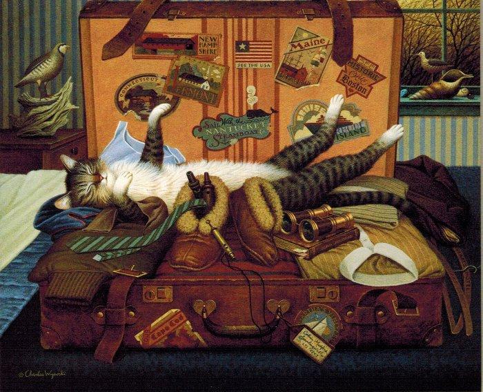 Mabel The Stowaway by Charles Wysocki