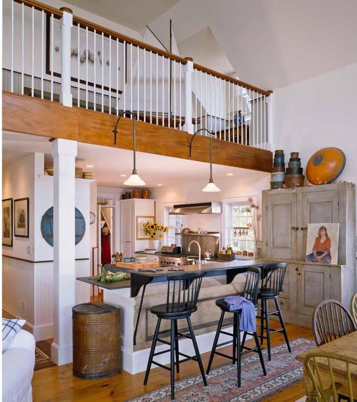 Beach Cottage Kitchen Kitchen: Beach Cottage With A Fabulous 3-Season Screened Porch