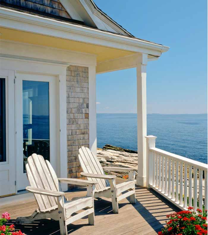 Oceanside Cottage In Maine