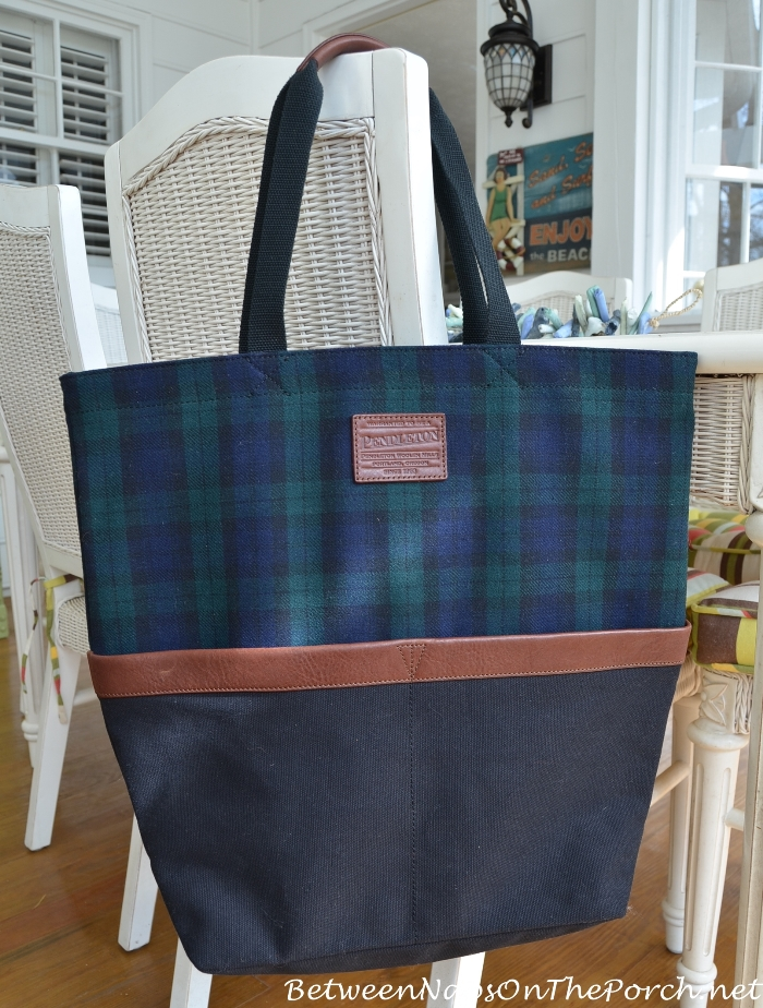 Pendleton Blackwatch Plaid Weekender Tote Bag