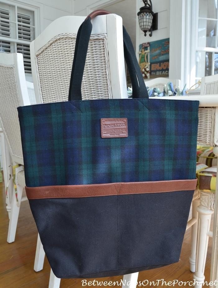 Pendleton Blackwatch Plaid Weekender Tote Bag