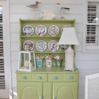 The Porch Hutch Gets a Makeover For Spring and Summer