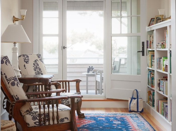 Reading Nook for a Beach Cottage