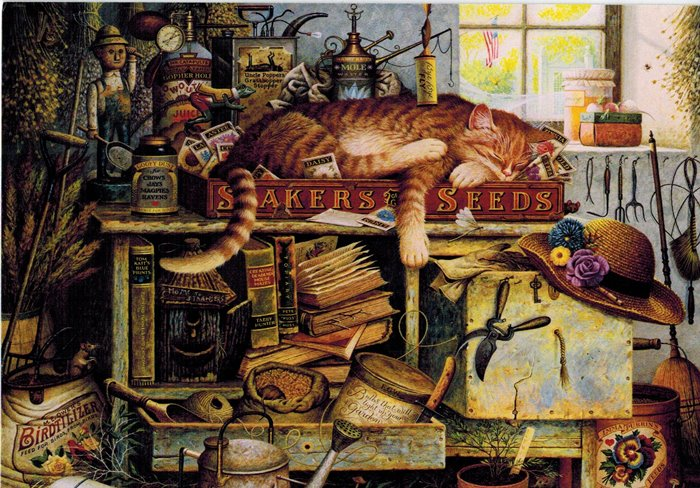 Remington The Horticulturalist by Charles Wysocki