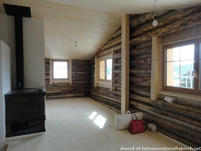 Renovated Restored Ski Cabin in Switzerland