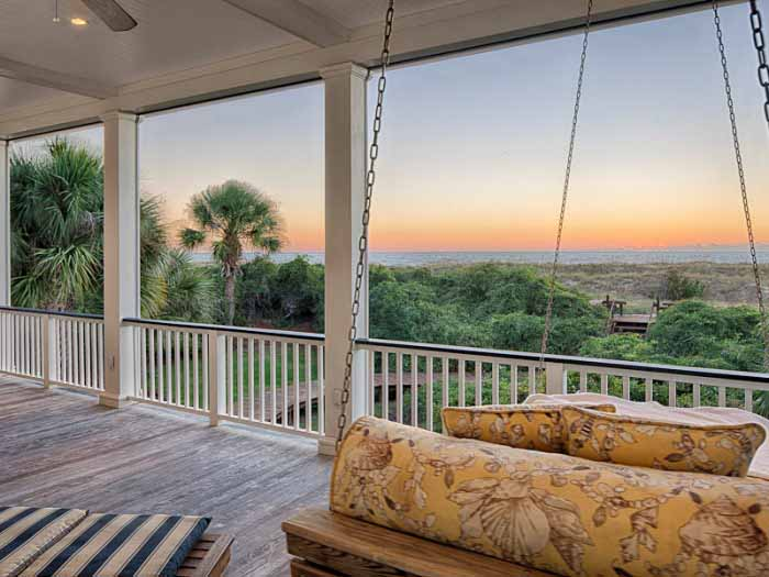 Screened Porch Tybee Island Beach House