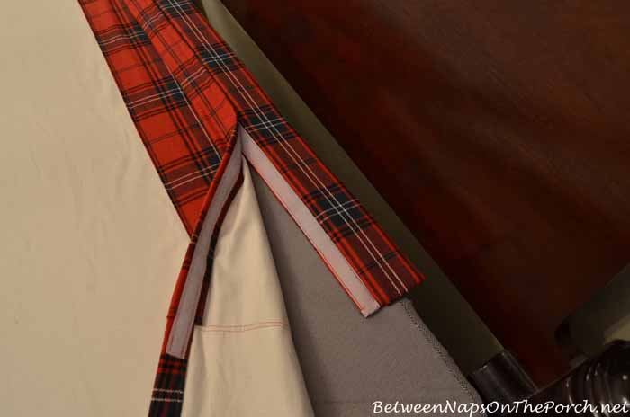 Secret for Sewing A Heavy Very Full Bedskirt