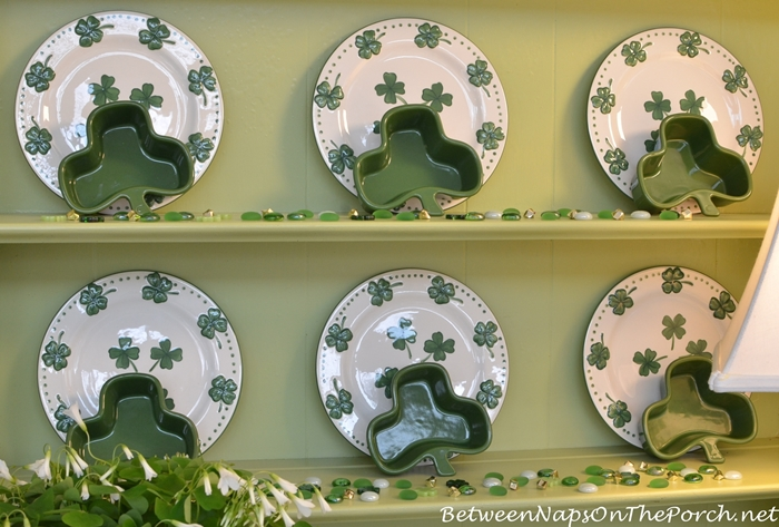 St. Patrick's Day Dishware
