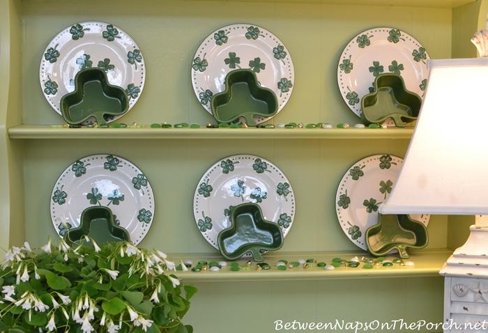 St. Patrick's Day Plates