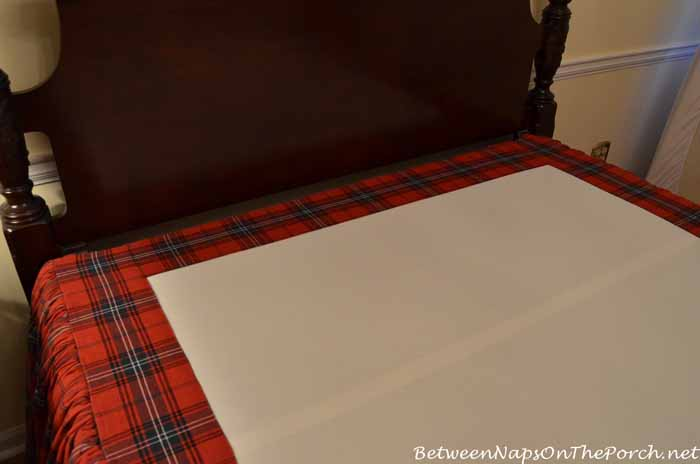 Tips for sewing a heavy, super full bedskirt