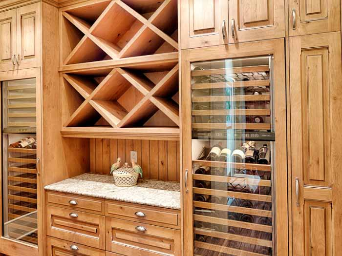 Wine Storage in Beach Home