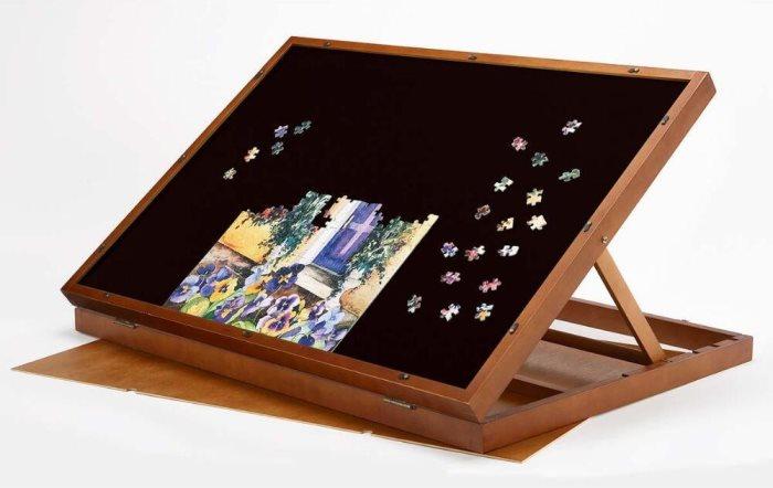 Adjustable Tilting Puzzle Board