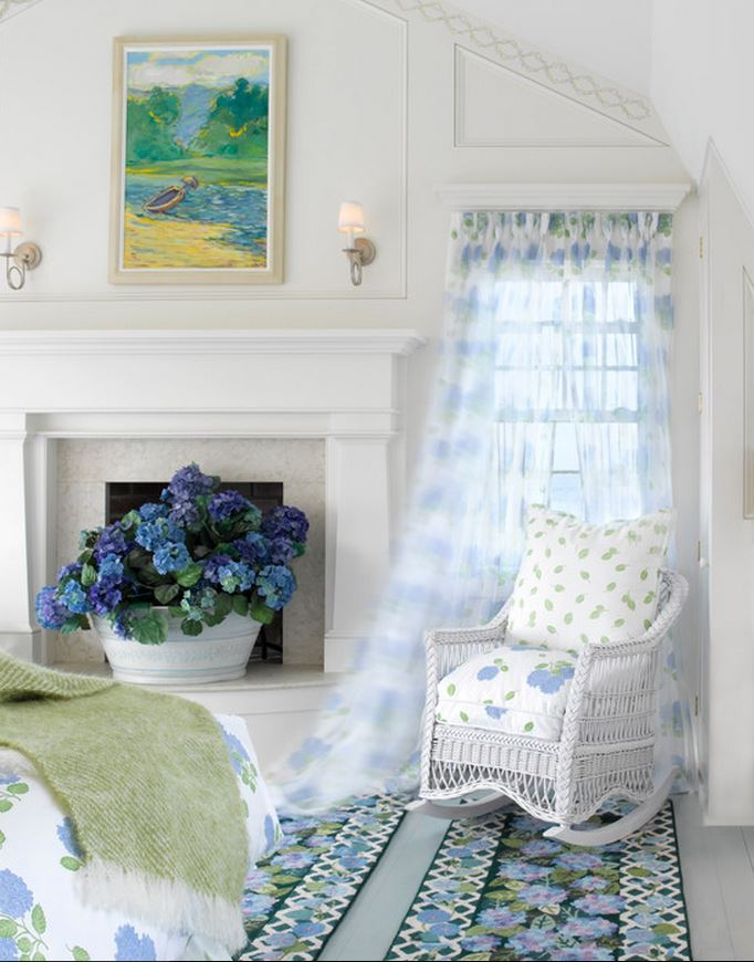 Airy Curtains for a Beach Cottage