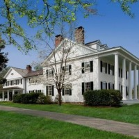 Tour Blaine Trump's Greek Revival Millbrook Home